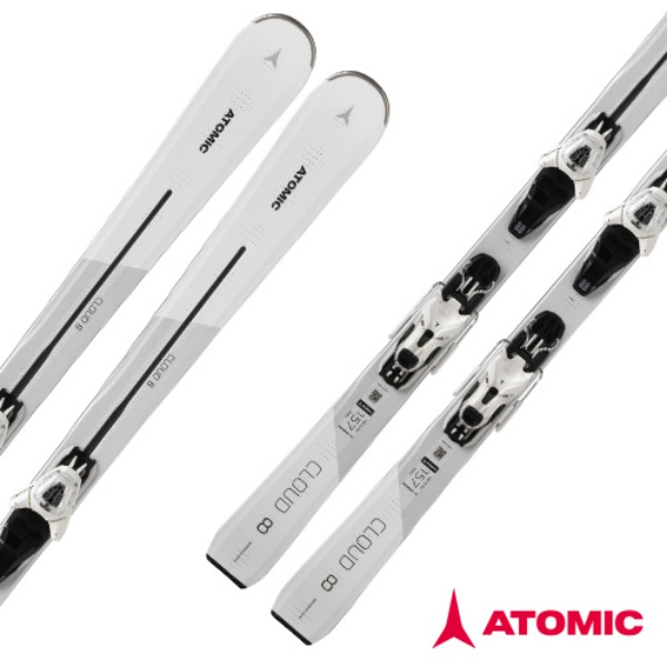 18 ATOMIC CLOUD 8  White E LITHIUM 10 White/Transp