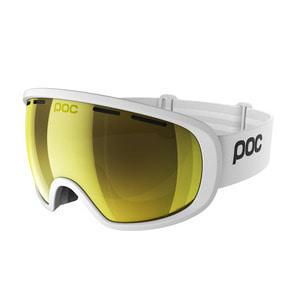 피오씨 스키고글1819 POC Fovea Clarity White/Gold